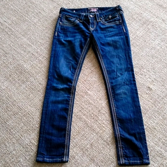 Rerock low rise skinny jeans for Express size 2s
